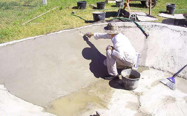 Применение бетона на основе жидкого стекла