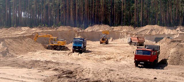 Подготовка песчаного грунта под фундамент