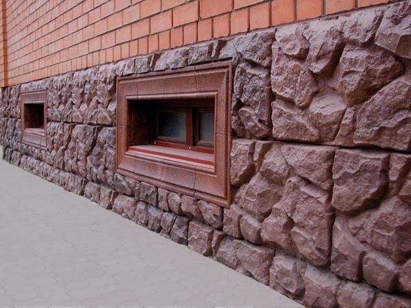 Пример жилого цоколя в частном доме