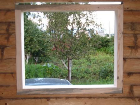Как сделать пропил для окна