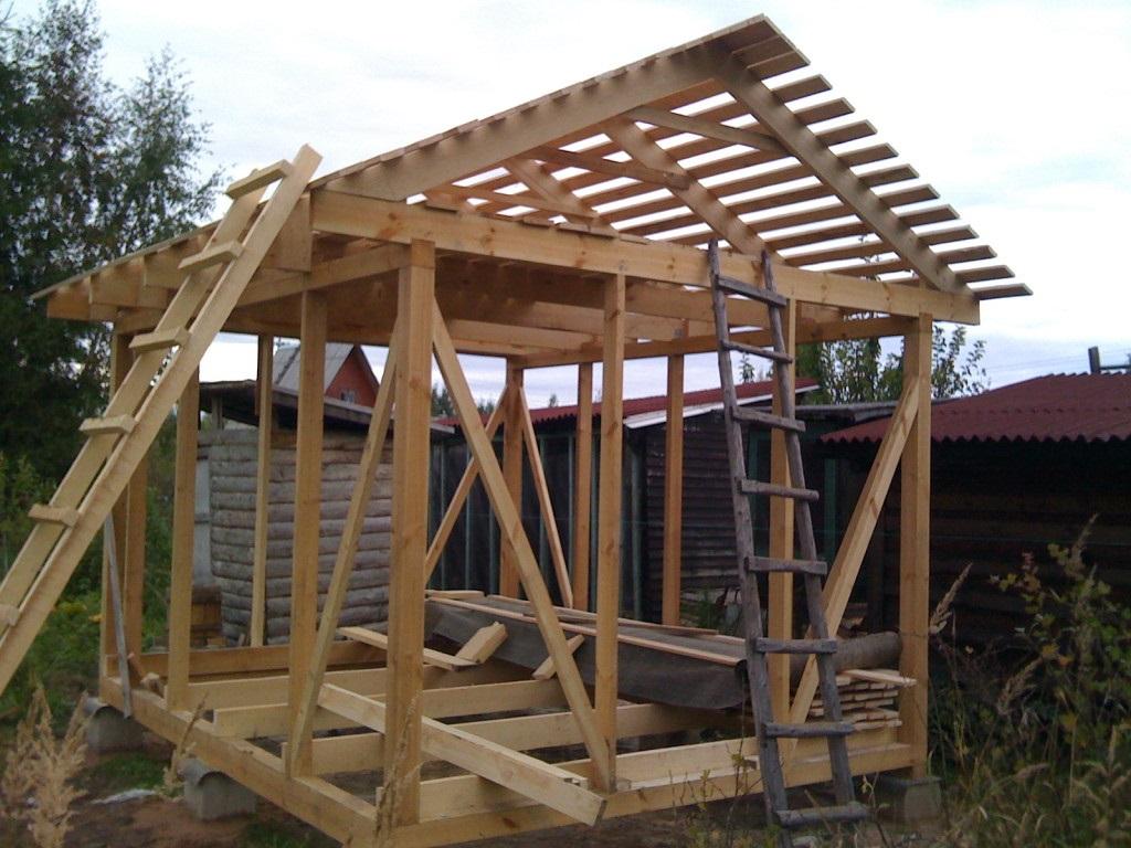 Построить дом своими руками и показать фото 56