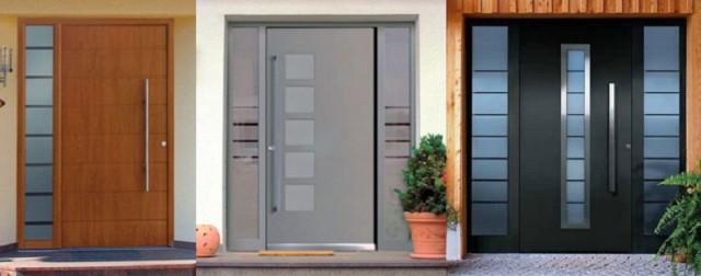 Аллюминевые двери