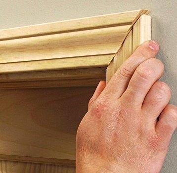 Как установить добор на межкомнатную дверь своими
