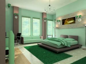 Зеленый в сочетаниях - благороство и сдержанность