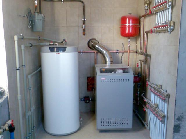 котельные пароустановки на природном газе