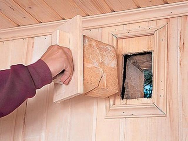 Вытяжка для деревянного дома своими руками