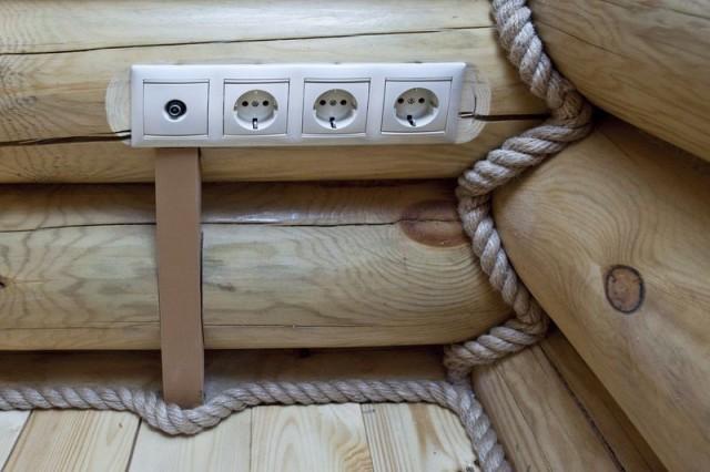 Скрытая проводка в доме