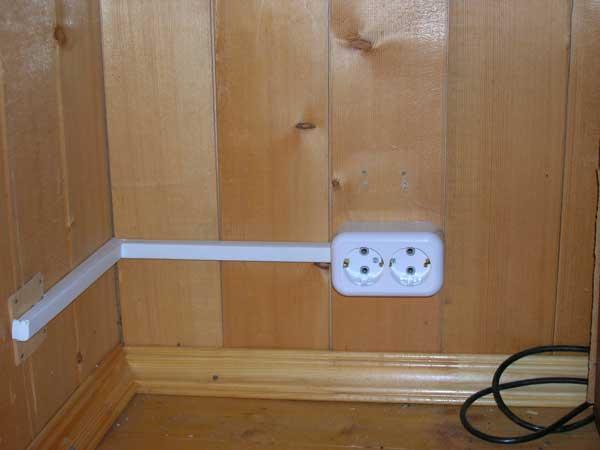 Электрика своими руками в деревянном доме