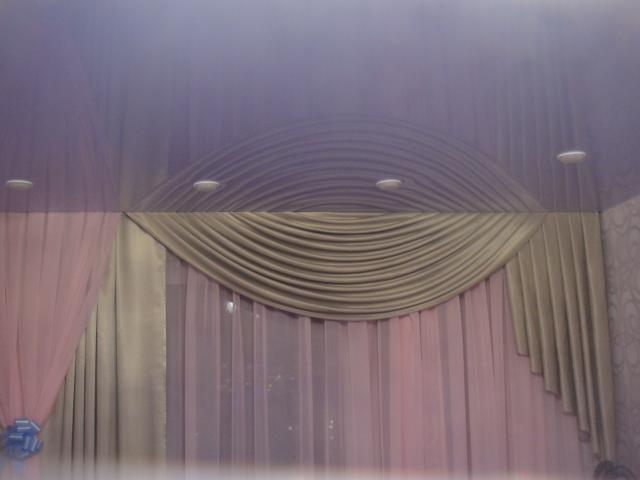 потолочные карнизы для штор фото цена