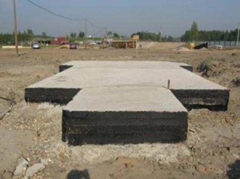 Монолитная плита - основа