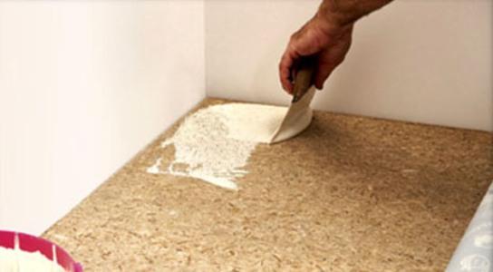 Укладка линолеума своими руками на бетонный пол видео